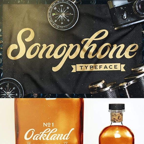 Sonophone - Typeface