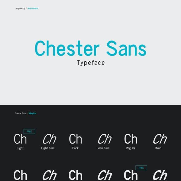 Chester Sans - Type Family