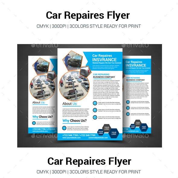 Car Repair Flyer