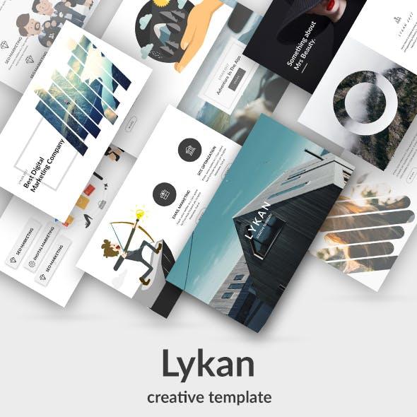 Lykan Creative Keynote Template