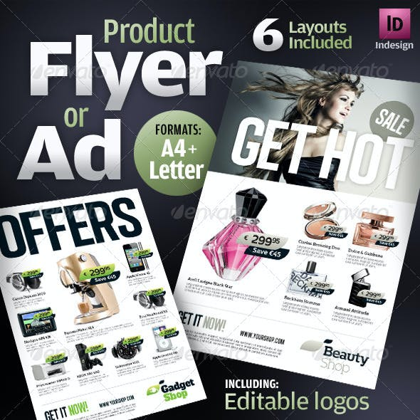 Product Flyers / Ads