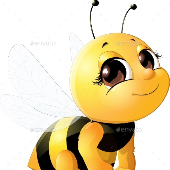 Bee with a Bucket
