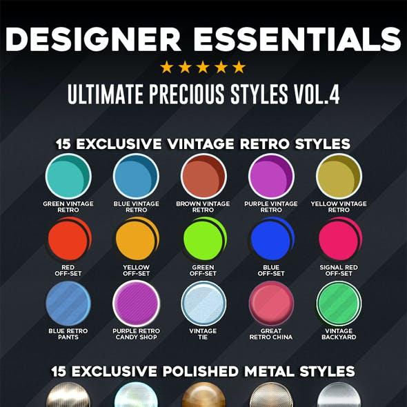 Designer Essentials Ultimate Precious Styles Vol.4
