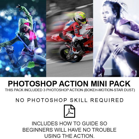 Photoshop Action Minipack