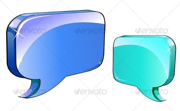 Speech or chat - Decorative Vectors