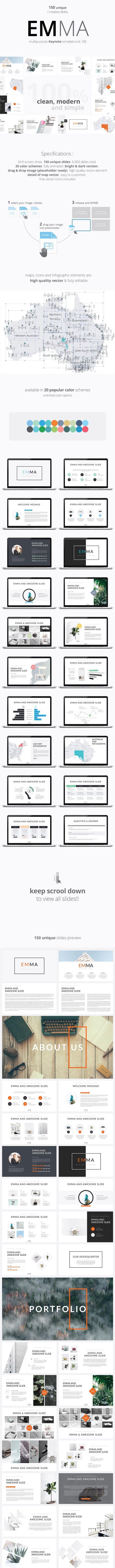 CREATOR Multipurpose Keynote Bundle Template - Business Keynote Templates