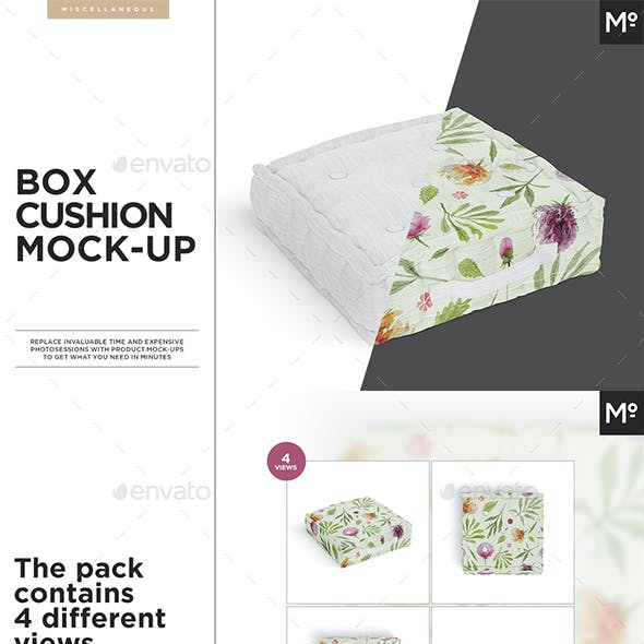 Box Cushions Mock-up