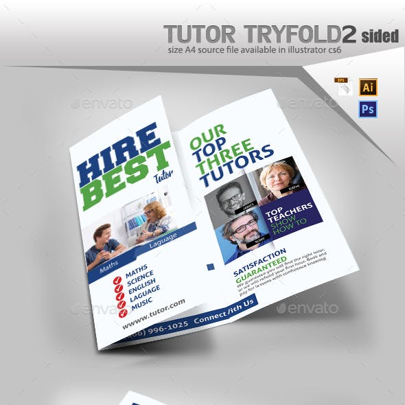 Tutor Trifold Brochure