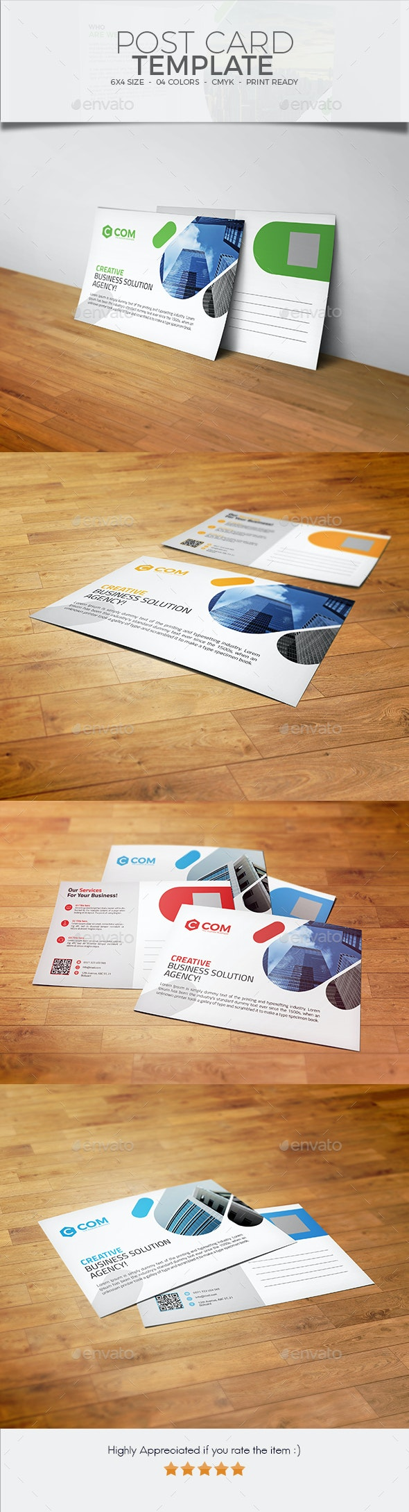 Post Card Design 01 - Cards & Invites Print Templates