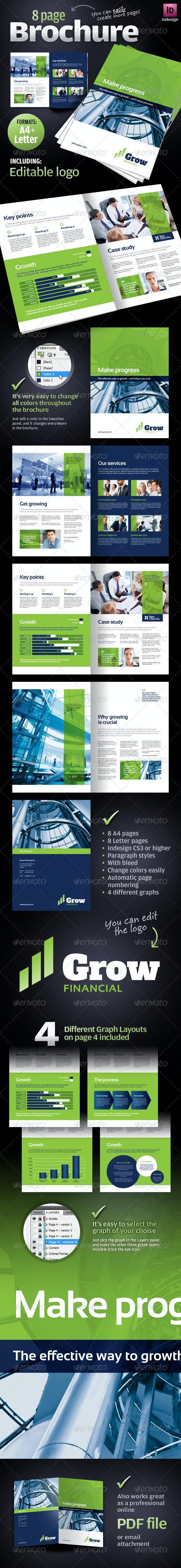 8 page Corporate Business Brochure - Corporate Brochures