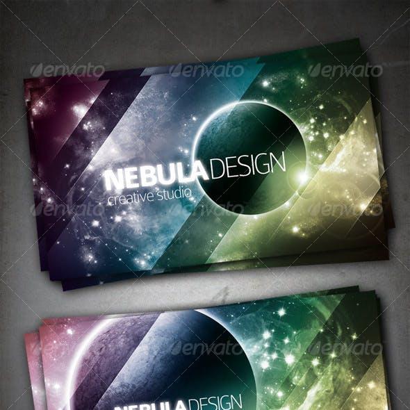 Nebula Design Card