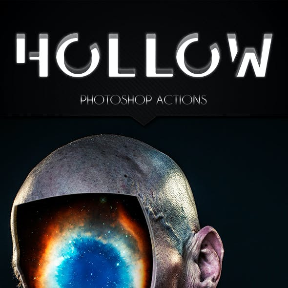 Hollow Photoshop Action