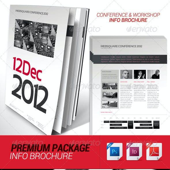 Conference Schedule & Workshop Info Brochure
