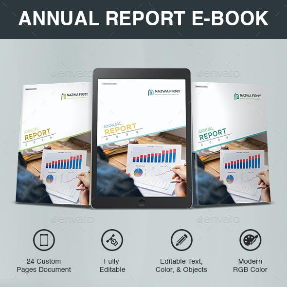Annual Report E-Book Template