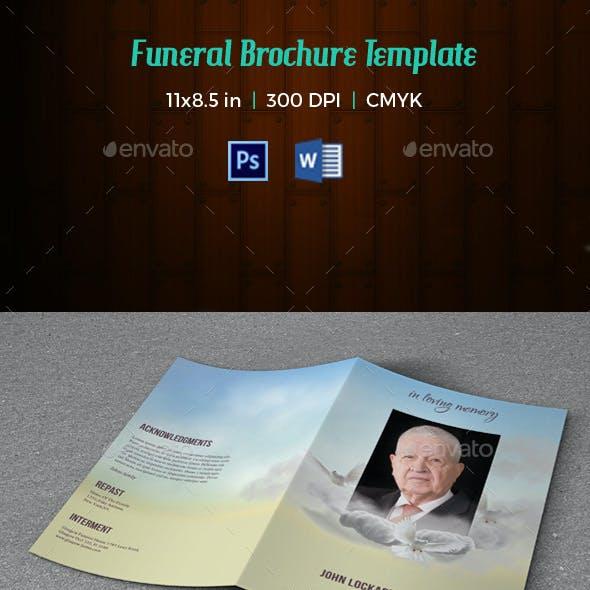 Funeral Program Template V181