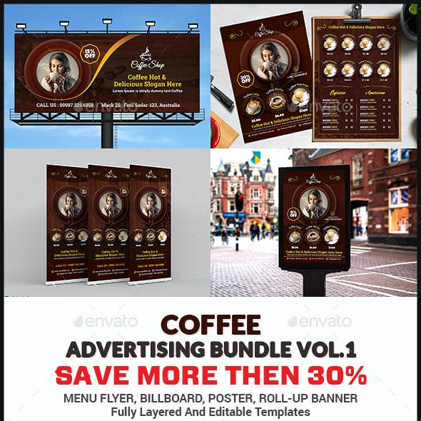 Coffee Advertising Bundle Vol.1