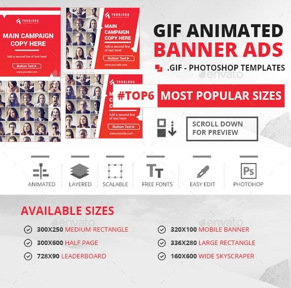 GIF - Animated Banner Ads