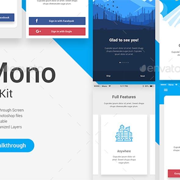 Mono UI Kit - Walkthrough