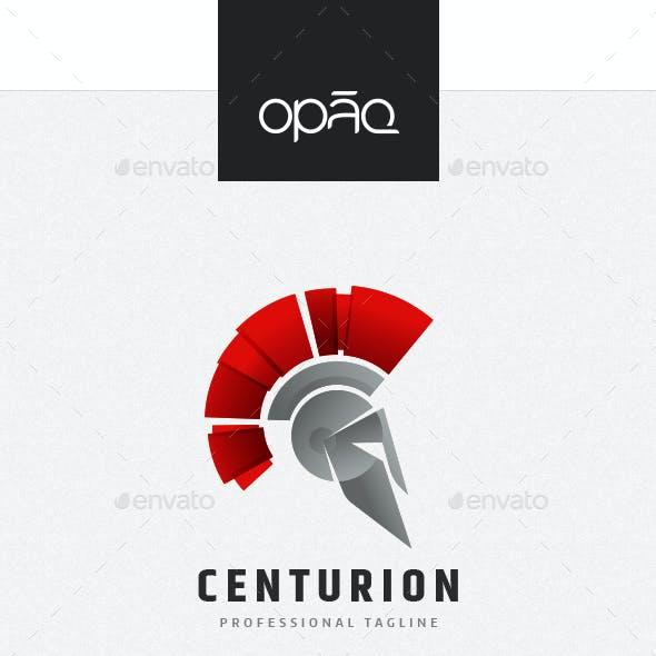 Centurion Spartan Gladiator Logo