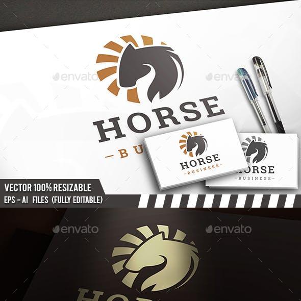Dark Horse Circle Logo