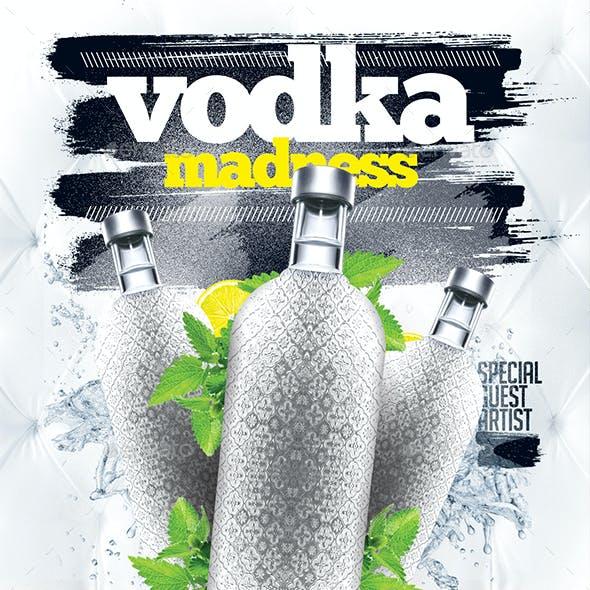 Vodka Madness Flyer