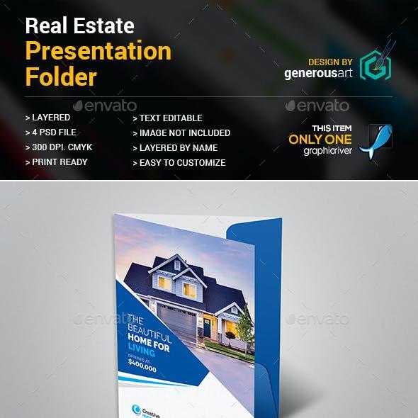 Real Estate Presentation Folder