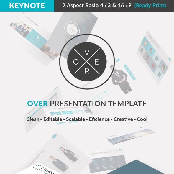 Over Keynote Presentation Template