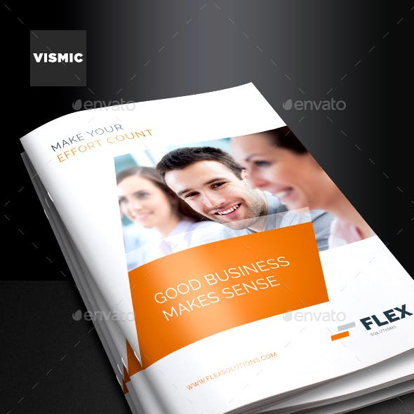 Business Brochure template for Indesign - A4 and Letter