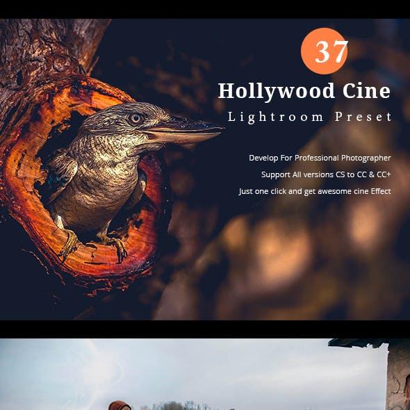 37 Hollywood Cine Lightroom Presets