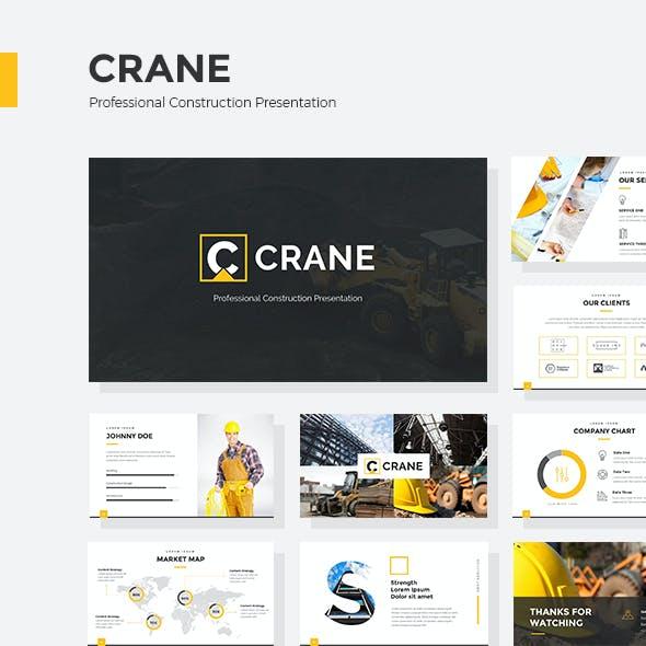 Crane - Professional Construction Keynote Presentation