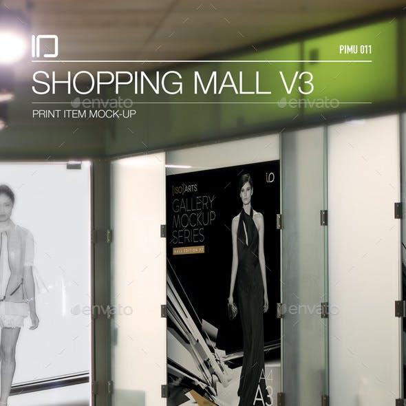 Mock-Up • Shopping Mall Gallery v3