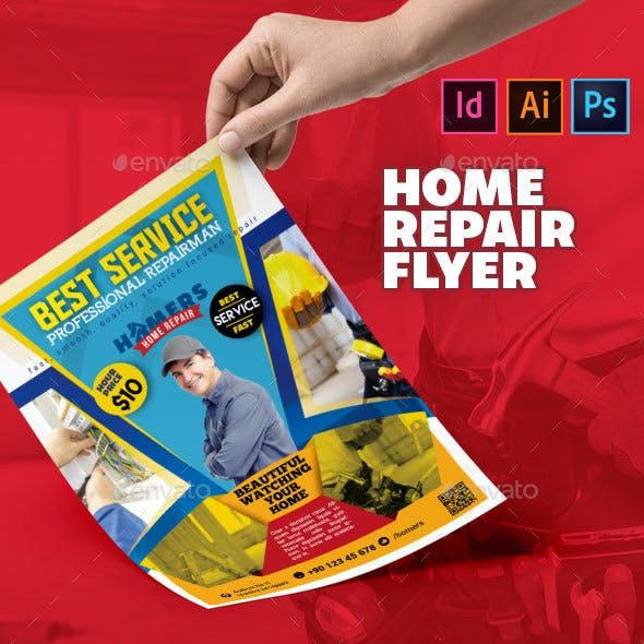 Home Repair Flyer
