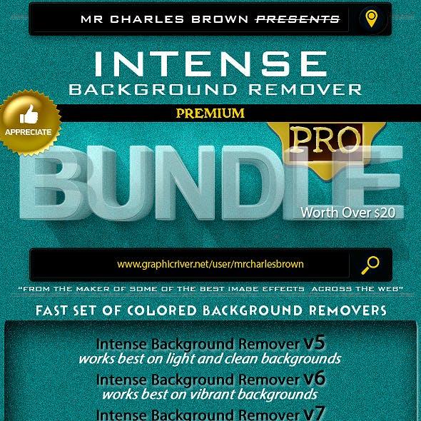 Intense Background Remover Pro Bundle v5-v7