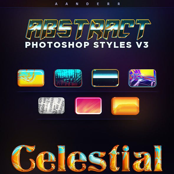 Abstract Photoshop Styles 3
