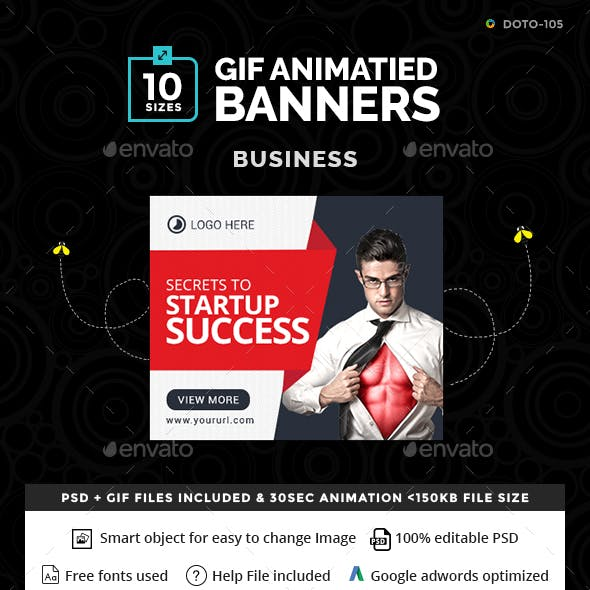 Business Banners - Animated Gif Banners