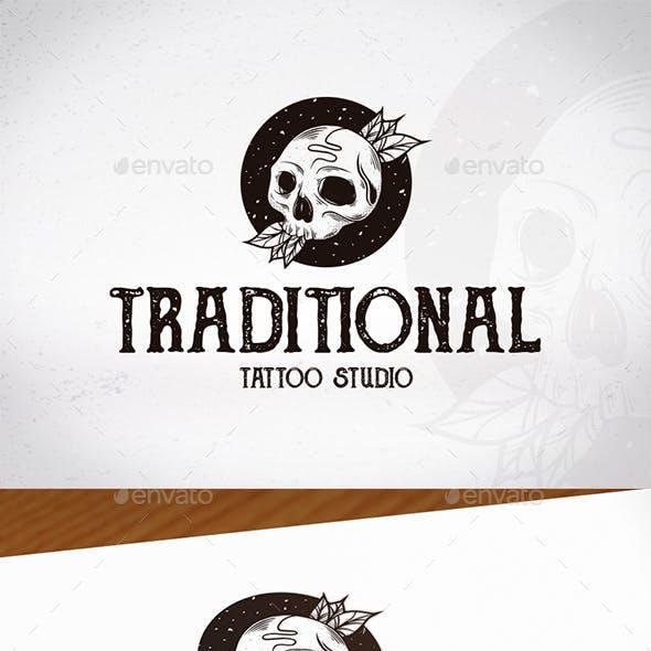 Traditional Tattoo Studio Logo