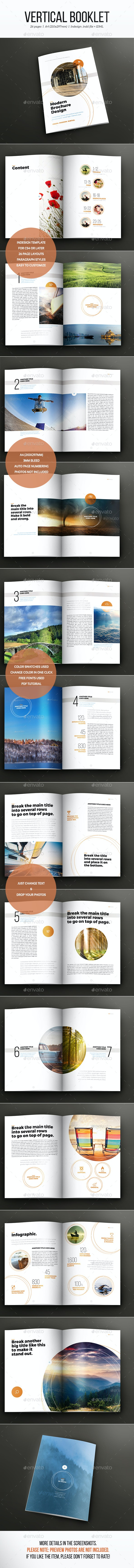Vertical Booklet - Informational Brochures