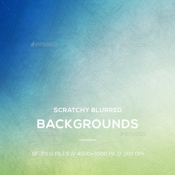 Scratchy Blurred Backgrounds