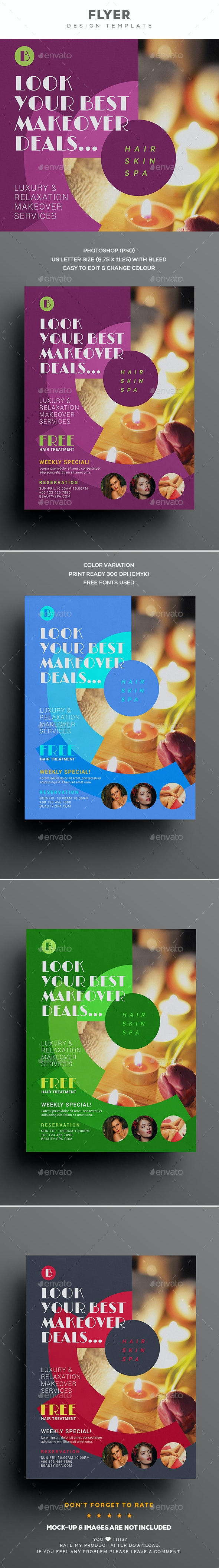 Beauty Care Flyer - Corporate Flyers