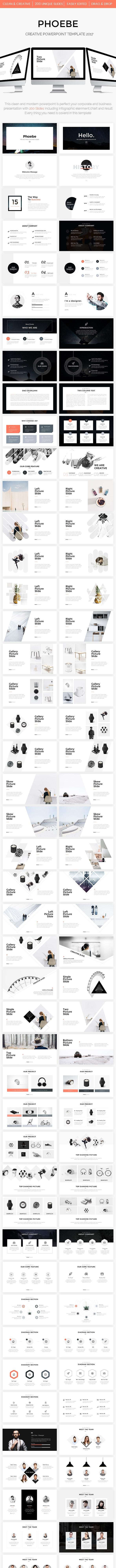 Phoebe - Creative Powerpoint Template - Creative PowerPoint Templates