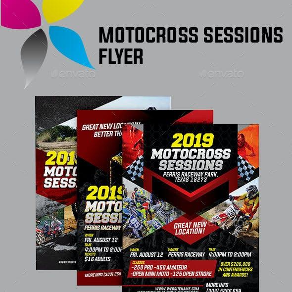 Motocross Sessions Flyer