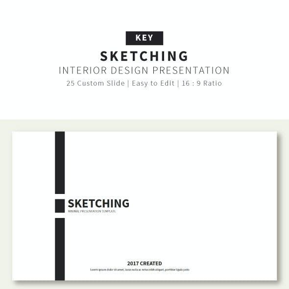 Sketching Presentation Keynote Template