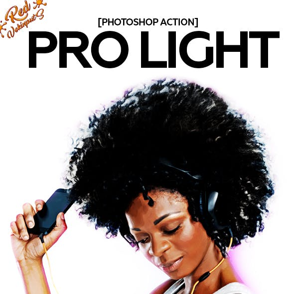 Pro Light Photoshop Action