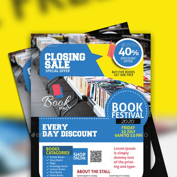 Book Stall Flyer