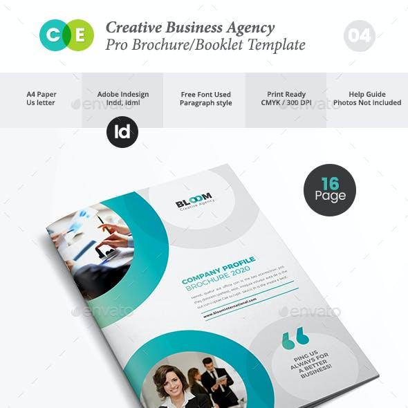 Business Creative Agency Brochure V04