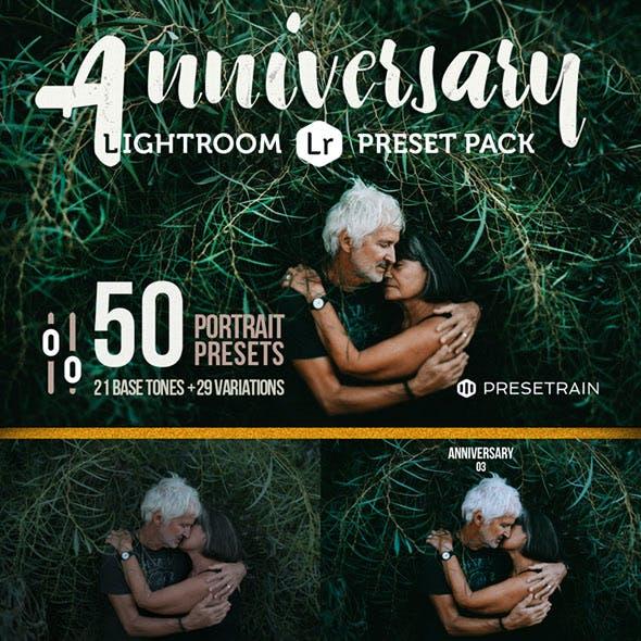 Anniversary - 50 Lightroom Presets