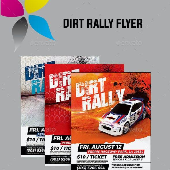 Dirt Rally Flyer
