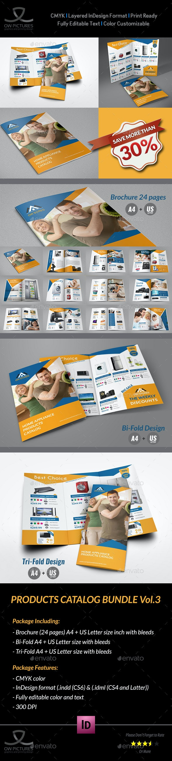 Products Catalog Brochure Bundle Vol.3 - Catalogs Brochures