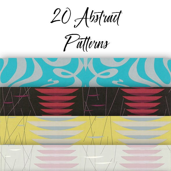 20 Seamless Abstract Patterns
