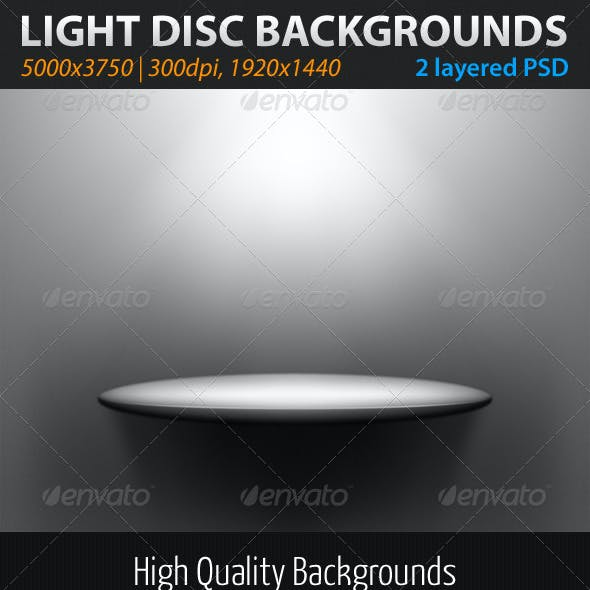 Light Disc Backgrounds